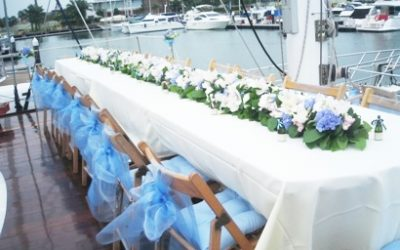Yacht Wedding Reception / Yacht Solemnisation
